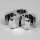 Держатель труба+стекло(ДСП) двуст. поворотный Jk78