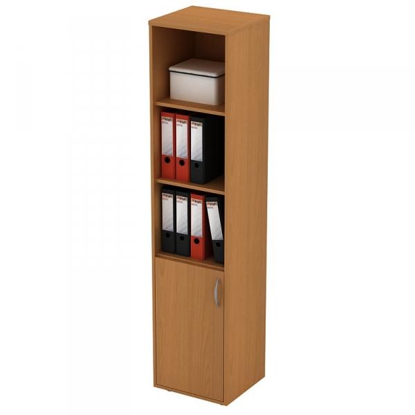 Шкаф для документов узкий открытый 304 (42*38*186)