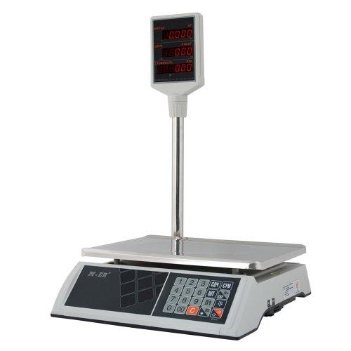 Весы торговые M-ER 327ACP 15.2 LED, LCD