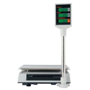 Весы M-ER 327ACP-15/32 кг LCD, со стойкой