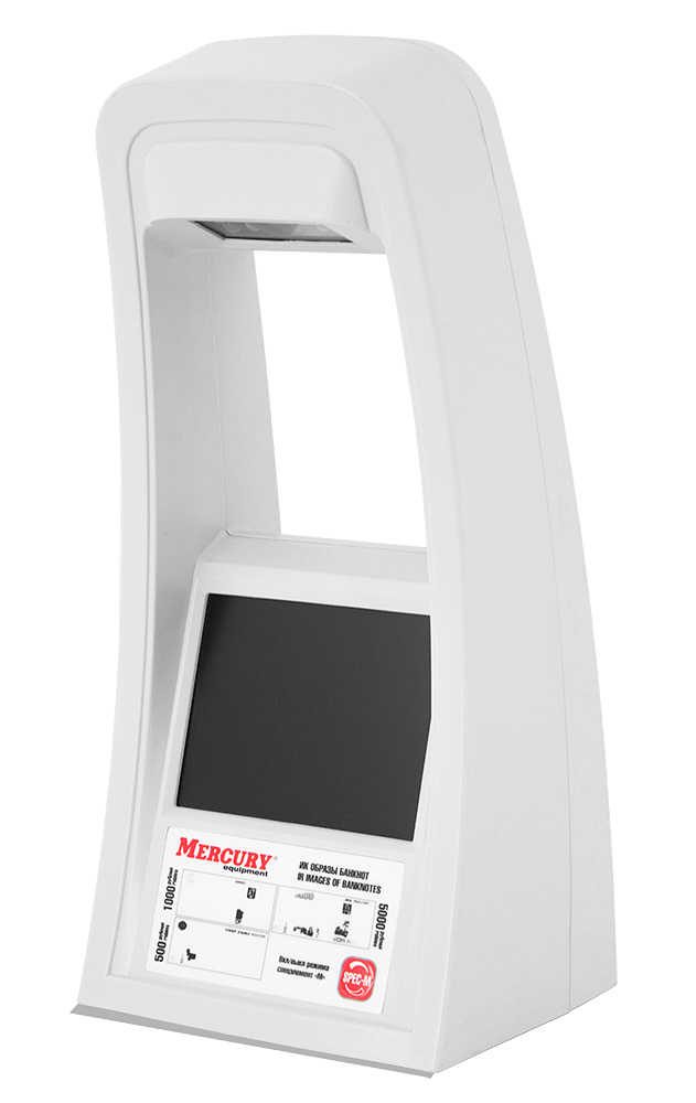 Детектор валют Mercury D-300 (COMPACT)