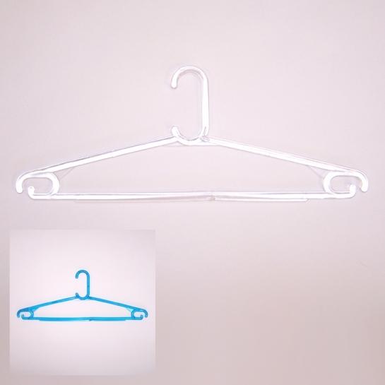 Вешалка простая прозрачная В-206