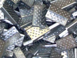 Пряжка-скоба металлическая 12 мм (500 шт в пакете)