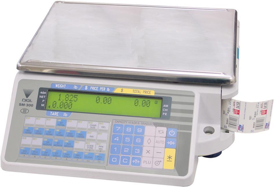 Весы DIGI SM-300 15.5 без стойки