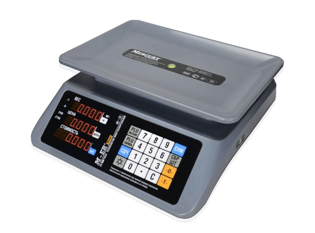 Торговые весы M-ER 320AC «Margo» 15/32 кг Led,Lcd