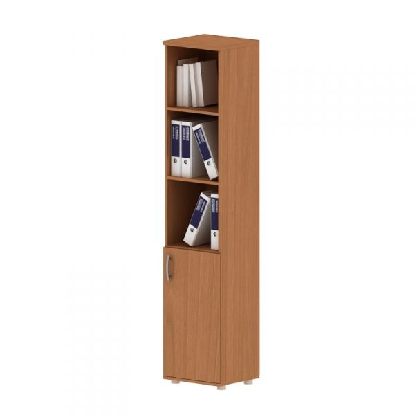 Шкаф для документов высокий узкий полузакрытый 380