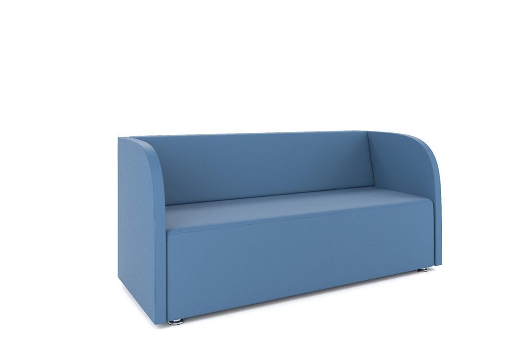 Роса диван трехместный низкий