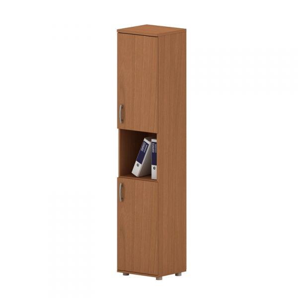 Шкаф для документов высокий узкий полузакрытый 384