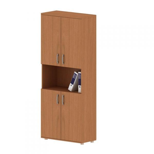 Шкаф для документов высокий с нишей 374